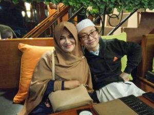 妻と、Bumi Akiにて